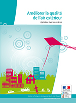 Rapport pollution air en france
