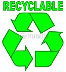 Logo produit recyclable